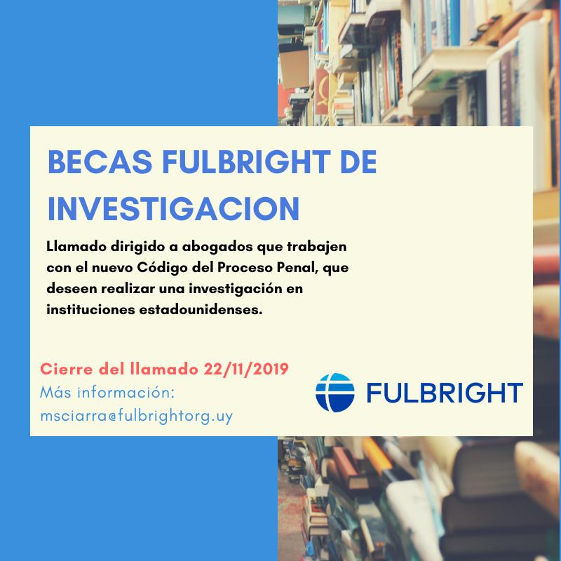 Becas Fulbright De Investigación