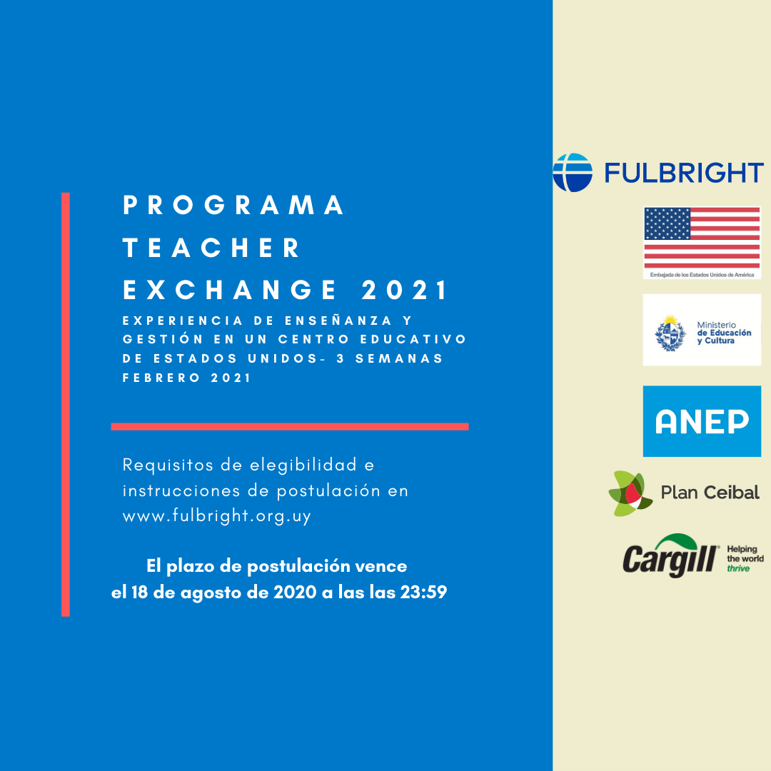 The Call For Applications For The Teacher Exchange Program Is Now Open